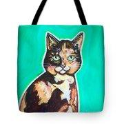 Daphne The Calico Cat Tote Bag