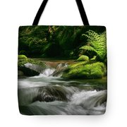 Dappled Green Tote Bag