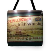 D'arcy's Old Irish Whiskey Tote Bag