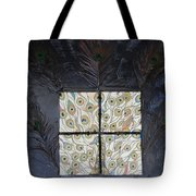 Dare To Be Different I Peacock Tote Bag