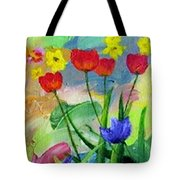 Daria's Flowers Tote Bag