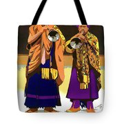Darjeeling, Lama Dance Musicians, India Tote Bag