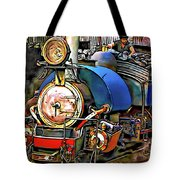 Darjeeling Toy Train Tote Bag
