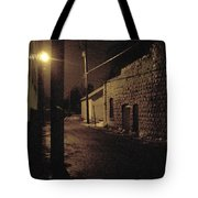 Dark Alley Tote Bag