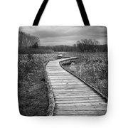 Dark Appalachian Trail Tote Bag