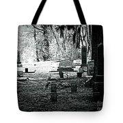 Dark As The Grave Tote Bag