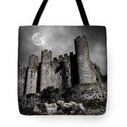 Dark Castle Tote Bag by Carlos Caetano