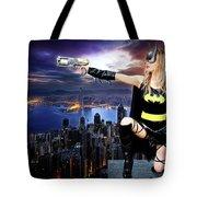 Dark City Of The Bat Tote Bag