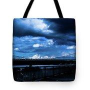 Dark Crossway Tote Bag