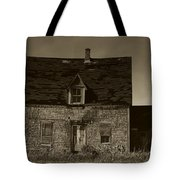 Dark Day On Lonely Street Tote Bag
