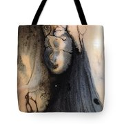 Dark Deliberation Tote Bag