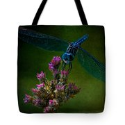 Dark Dragonfly Tote Bag