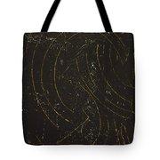 Dark Energy With Lighting Tote Bag