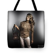 Dark Fashion Style With Fashionable Bag Accessory Tote Bag