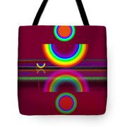 Dark Heat Tote Bag