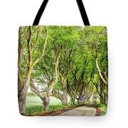 Dark Hedges, Game Of Thrones Tote Bag