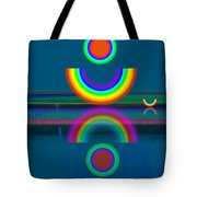 Dark Mirror Tote Bag