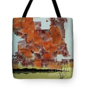Dark Mist Arising Tote Bag