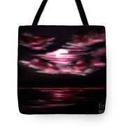 Dark Moon Arising Sold Tote Bag