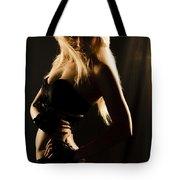 Dark Mysterious Dancer Tote Bag