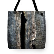 Dark Old Wooden Boards With Shadow Tote Bag