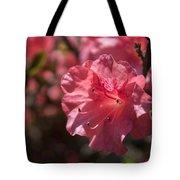 Dark Pink Azalea Tote Bag