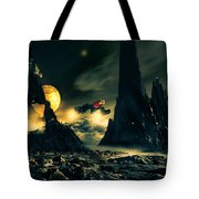 Dark Planet Tote Bag