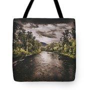 Dark River Woods Tote Bag