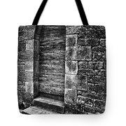 Dark Secret Behind The Medieval Door Tote Bag by Silva Wischeropp