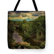 Dark Skies Over The Avon Tote Bag