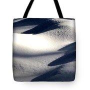 Dark Snowy Nights Tote Bag