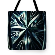 Dark Star On A Glass Scale Tote Bag