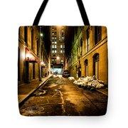 Dark Street Tote Bag