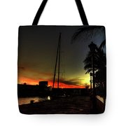 Dark Sunlight Tote Bag