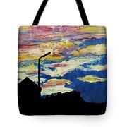 Dark Sunset Tote Bag