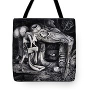 Dark Surprise Tote Bag