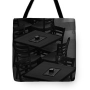 Dark Tables Tote Bag