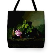 Dark Vases Tote Bag