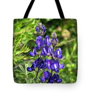 Lupin Flower Tote Bag