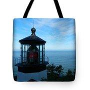Darkened Lighthouse Tote Bag