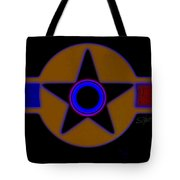 Darker Than Black Tote Bag