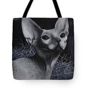 Darkness Cat Tote Bag