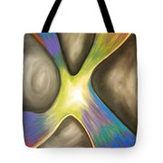 Darkness Conquered Tote Bag