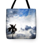 Darkness Moving In Tote Bag