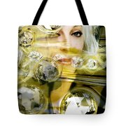Darling Diamonds Tote Bag
