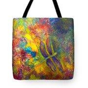 Darling Dragonfly Tote Bag