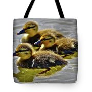 Darling Ducks Tote Bag