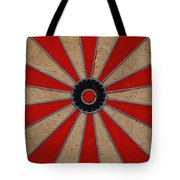 Dart Board Tote Bag