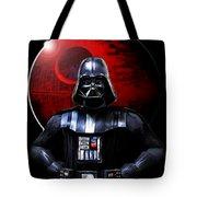 Darth Vader And Death Star Tote Bag