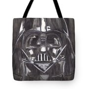 Black And White Star  Tote Bag